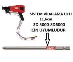 Hilti Sistem Vidalama Ucu PH2 116mm SD 5000-6000 1 Adet